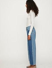 Just Female - Calm jeans mix 0104 - vida byxor - middle blue mix - 4