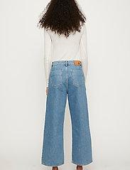 Just Female - Calm jeans mix 0104 - vida byxor - middle blue mix - 5