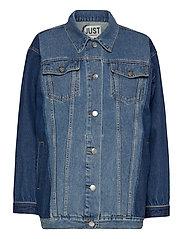 Thunder jacket 0104 - MIDDLE BLUE MIX