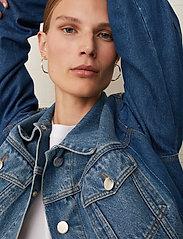 Just Female - Thunder jacket 0104 - denim jackets - middle blue mix - 6