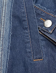 Just Female - Thunder jacket 0104 - denim jackets - middle blue mix - 8