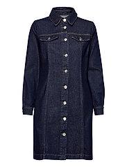 Mist dress 0103 - BLUE RINSE