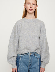 Just Female - Girona knit - jumpers - blue pumice mix - 0