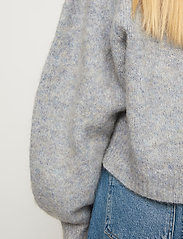 Just Female - Girona knit - jumpers - blue pumice mix - 4