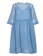 Vermont dress - SILVER LAKE BLUE