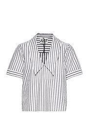 Rialto blouse - PAVEMENT STRIPE
