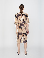 Just Female - Fontana wrap dress - summer dresses - illustrated flowers - 4