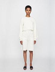 Just Female - Henderson crewneck - sweatshirts & hoodies - off white - 4