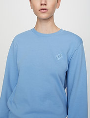 Just Female - Henderson crewneck - sweatshirts & hoodies - silver lake blue - 0
