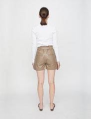 Just Female - Rancho ls tee - t-shirt & tops - white - 3