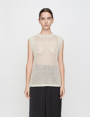 Just Female - Omaha knit top - knitted vests - off white - 0