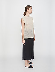 Just Female - Omaha knit top - knitted vests - off white - 4