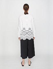 Just Female - Rise shirt - long-sleeved shirts - white - 3