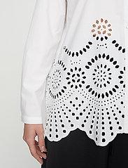 Just Female - Rise shirt - long-sleeved shirts - white - 4