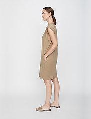 Just Female - Beijing dress - midi dresses - taupe - 4