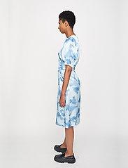Just Female - Laguni wrap dress - summer dresses - silver lake blue - 4