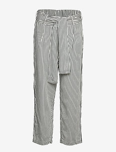 Beach trousers - GREEN WHITE STRIPE
