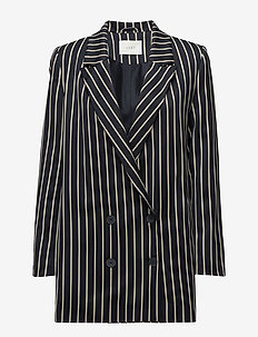 Laurent blazer - BLUE WHITE STRIPE