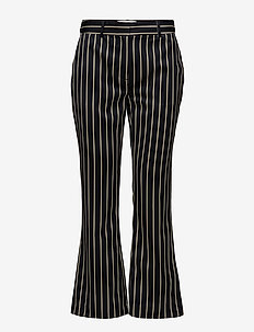 Laurent trousers - BLUE WHITE STRIPE