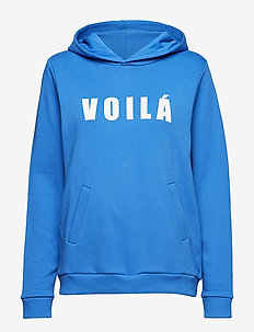 Voila sweat shirt - VICTORIA BLUE