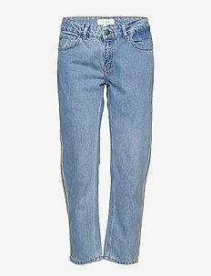 Rock tape jeans - LIGHT BLUE DENIM