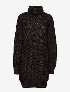 Livia long knit - golfy - coffee bean