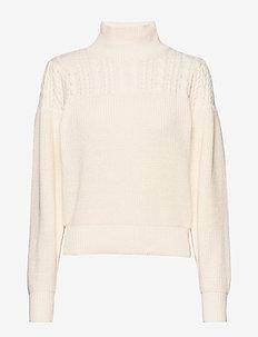 Windel knit - polotröjor - antique white