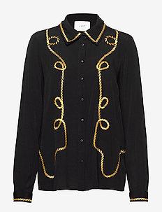 Wylie shirt - BLACK