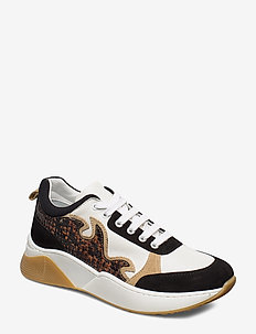 Rome sneaker - chunky sneakers - snake combi
