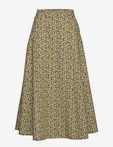 Dove maxi skirt - midi skirts - multi flower aop