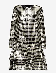 Petrina dress - robes midi - petrina check