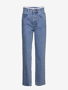 Norma denim jeans - jeans droites - blue denim