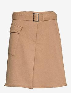 Mathilde skirt - spódnice mini - tigers eye