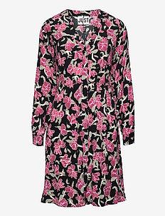 Alda dress - midi dresses - romantic flower aop