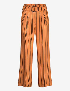 Claudia trousers - raka byxor - claudia stripe