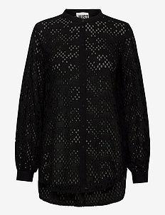 Avador shirt - langermede skjorter - black