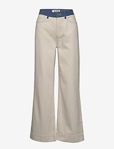 Sika jeans - flared jeans - off white