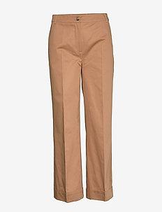 Zena trousers - wide leg trousers - thrush