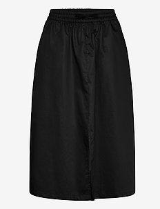Juvina skirt - midi-röcke - black