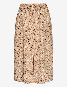 Juvina skirt - jupes midi - terazzo aop