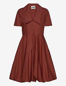 Tulina balloon dress - short dresses - henna