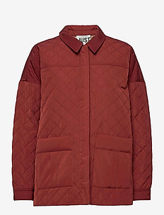 Cornelia jacket - quilted jackets - henna