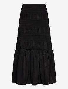 Lucille maxi skirt - jupes longues - black