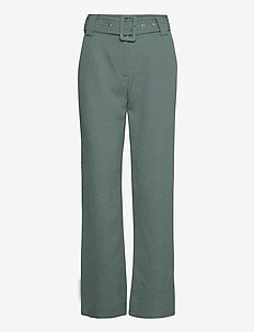 Bonnie trousers - pantalons larges - balsam green