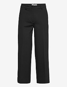 Frances trousers - casual bukser - black