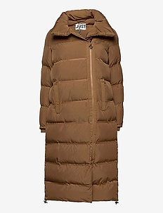 Whistler down jacket - dunkåper - walnut