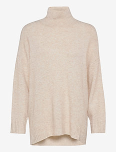 Unite knit blouse - gensere - off white