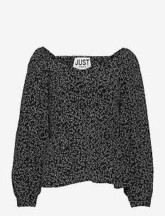 Colombo blouse - langærmede bluser - noise aop