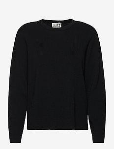 Manta knit - jumpers - black