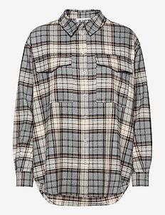 Pisa Shirt - clothing - stone check
